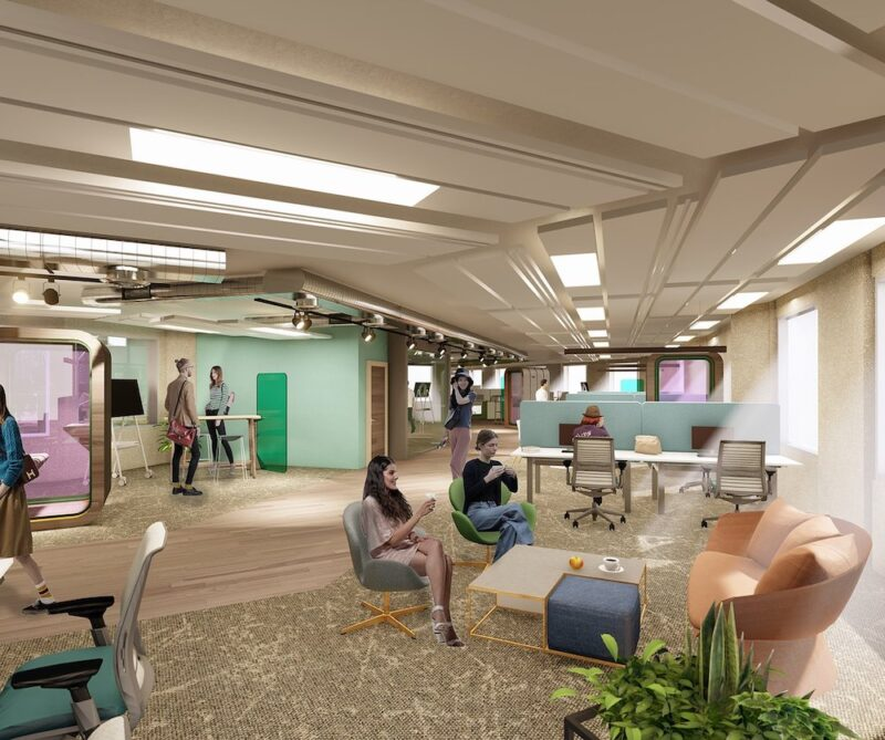 Octagon by B Living Coworking Flexible Office
